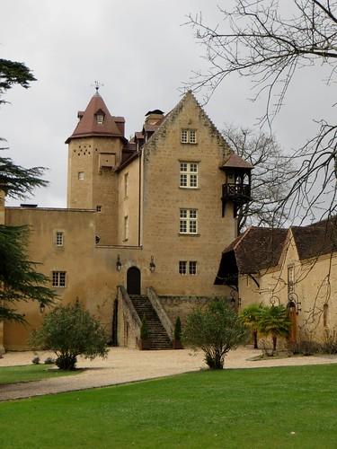 Château d'Arricau (XIVe, XVIe), Arricau-Bordes, Vic-Bilh, Pyrénées Atlantiques, Aquitaine, France.
