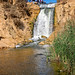 Waterfalls between upper and lower lakes in the Wadi el-Raiyan, Faiyum, Egypt by CamelKW