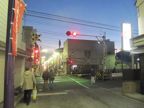 京成線踏切