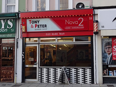 Picture of Tony And Peter Barber Shop/Nova 2 Ladies Hairdressers, 53 Frith Road