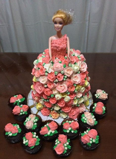Barbie Doll Cake By Ely S Sweet Kitchen