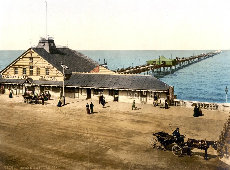 Herne Bay Pier, England