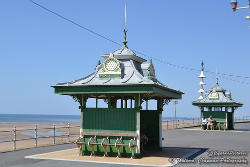 Promenade Shelters, Blackpool