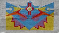 Harrison Street Cafe Mural