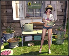 Can't satisfy my green thumb without the right outfit!