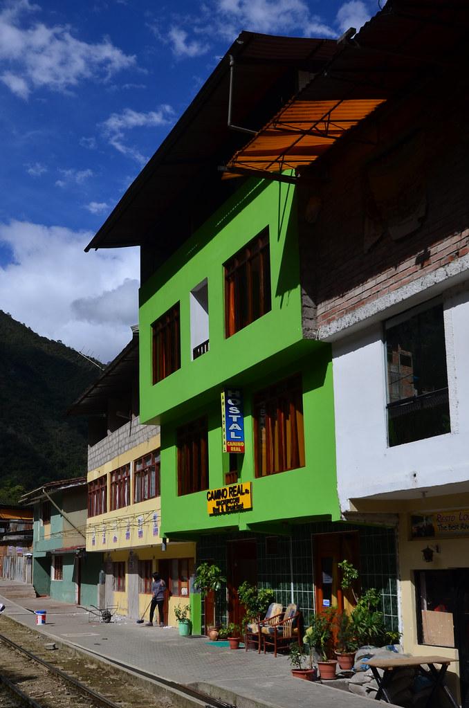 Nuestro hostel en Machu Picchu