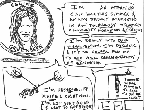 Civic Hall Toons #3 : Celine Gruenberg