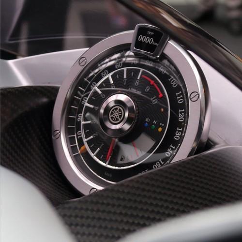 こういう計器がかっこいいんだよなー。