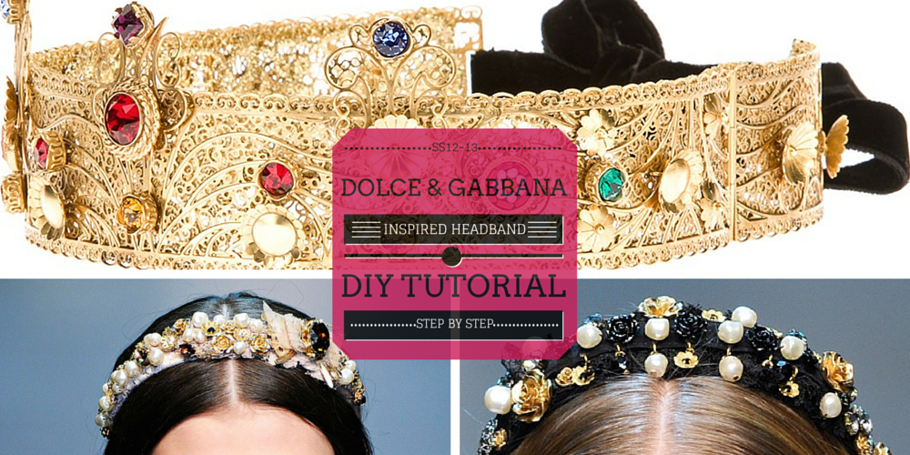 valencia fashion blogger easy diy jeweled dolce gabbana inspired fashion tutorial baroque