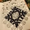 Sunday tangled thoughts. #zentangle #art #arttherapy #drawing #blackandwhite #penandink #illustration #ink #creative #freehand #handdrawn #zenart #zenhenna #CZT18 #CZT #pattern #sakura #doodlegalaxy #doodleartist #featureuniverse #featuregalaxy #art_we_in