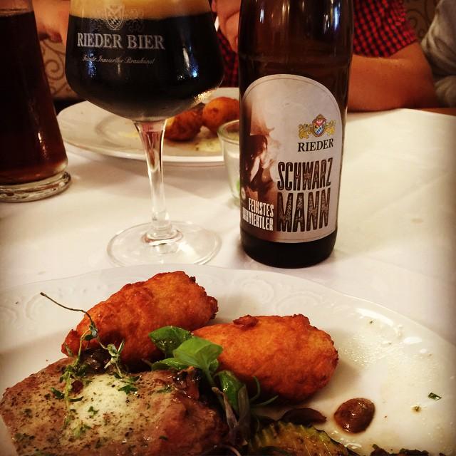 #beeroftheday : #riederbier #schwarzmann