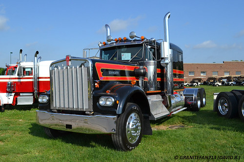 David Strickland 1979 Kenworth W900A Tractor