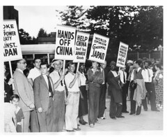 Protest imperialist expansion by Japan: 1937