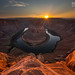 horseshoe bend sunset by Eric 5D Mark III