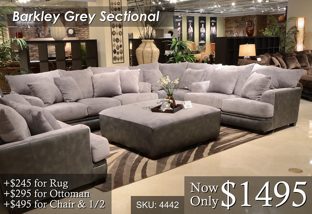 Barkley Grey Sectional