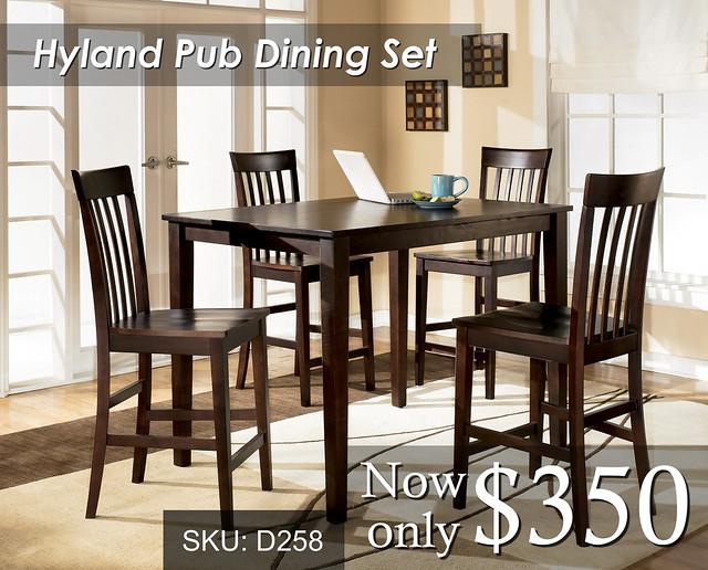 Hyland Pub Dining Set