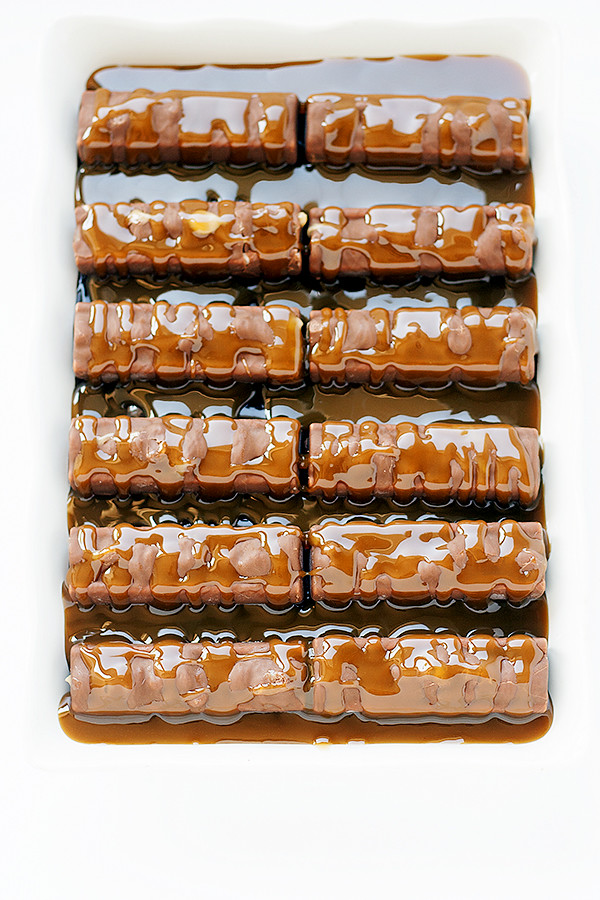caramel layer