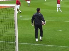 goalkeeper, football player, ball, sport venue, sports, player, football, goal, stadium,