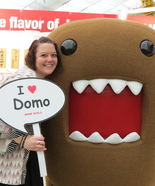 Meeting Domo-kun from NHK