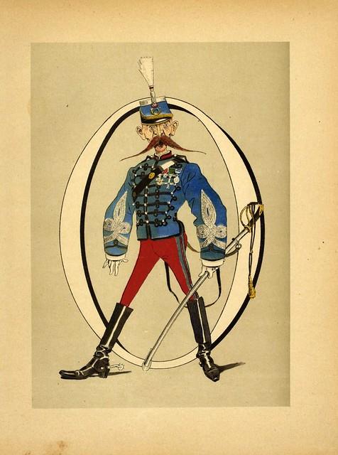 009-Armee française  nouvel alphabet militaire-1883- H. de Sta-BNF