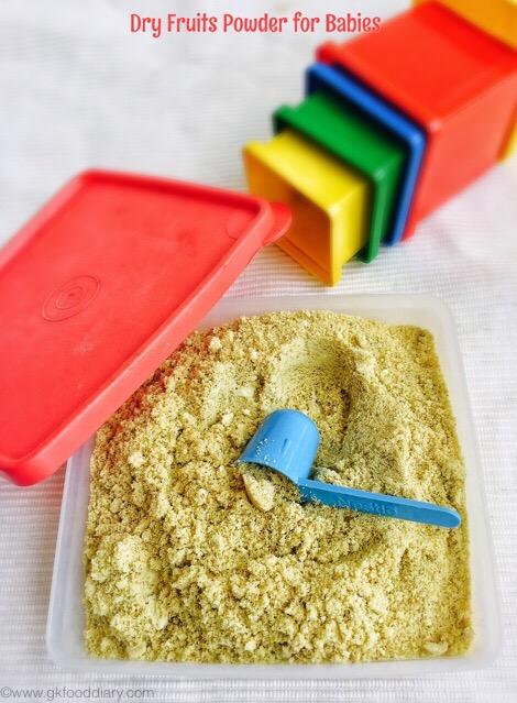 how to make dry fruits powder