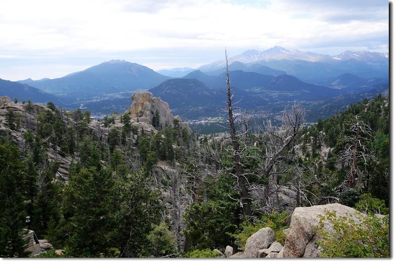 Looking toward Longs Peak from Lumpy Ridge Trail 1