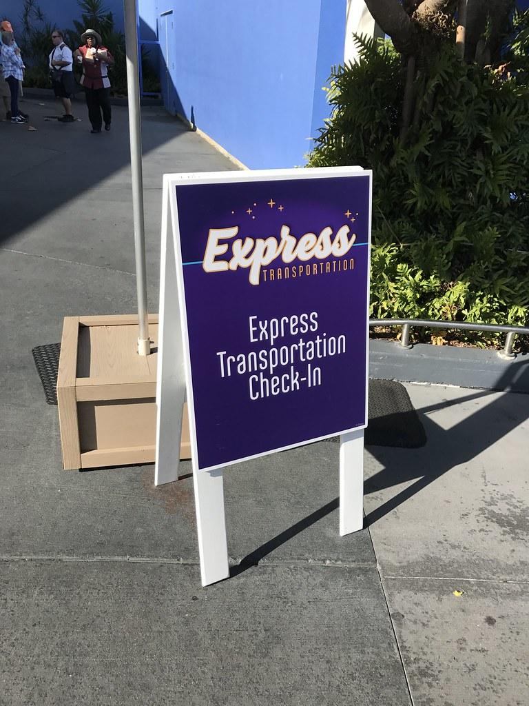 Express Transportation Bus Service at Walt Disney World