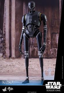 叛變的帝國機器人?!Hot Toys – MMS406 – 星際大戰外傳:俠盜一號【K-2SO】1/6 比例機器人作品