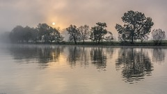 *Mystical Sunrise at River Moselle*