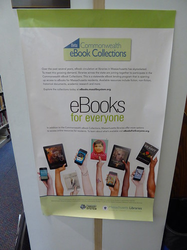ebooks at Robbins Library, Arlington MA