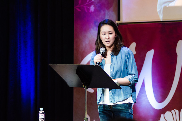 Pastor Erin Lee at NP Hongdae (June 2015)