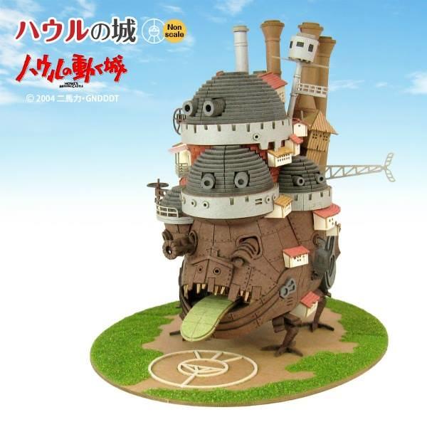 宮崎駿老師吉卜力動畫《霍爾的移動城堡》 紙模型