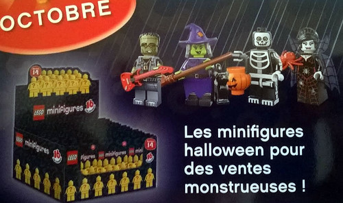 LEGO Collectible Minifigures Series 14 (71010) - Monsters