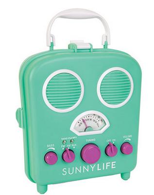 sunny life retro radio