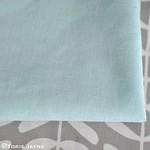 Duck egg blue poly cotton