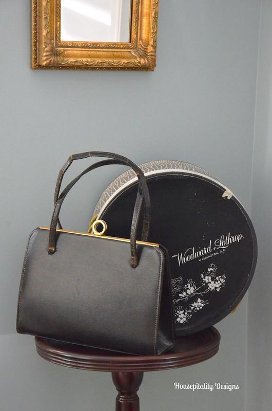 Vintage Handbag/Vintage Hat Box-Housepitality Designs