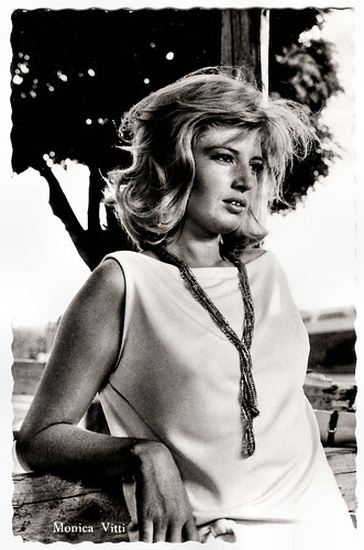 Monica Vitti in L'eclisse