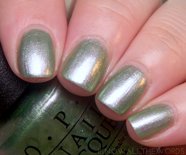 coca cola x opi two to celebrate Visions of Georgia Green (2)