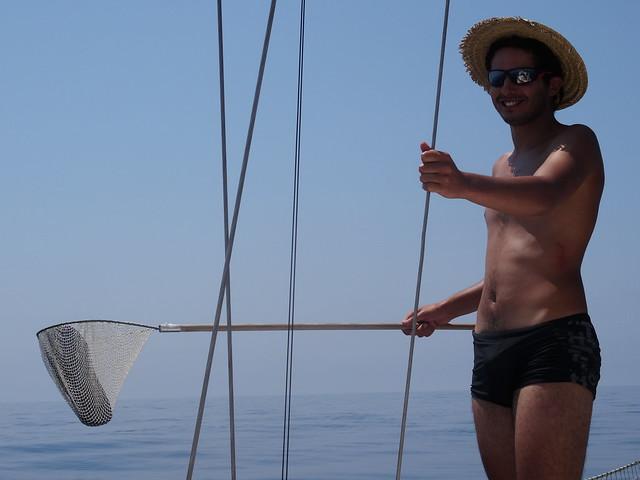 pêcheur de claquettes