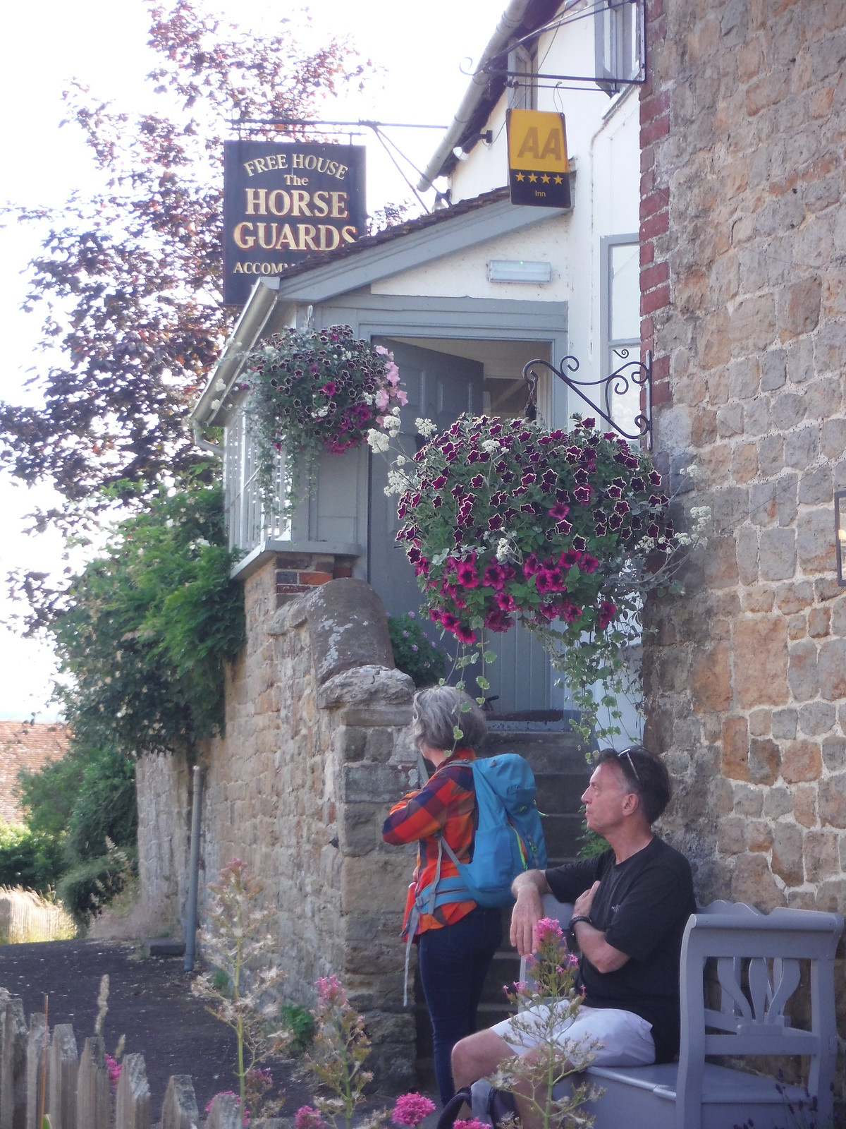 The Horse Guards Inn, Tillington SWC Walk 217 Midhurst Way: Arundel to Midhurst