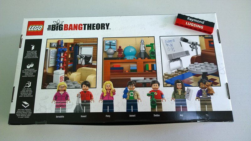 Review : #010 LEGO IDEAS - 21302 The Big Bang Theory 19445832238_c99be8c2b8_c
