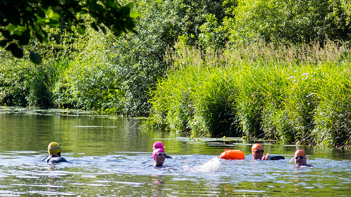 Swimming in River Rothay