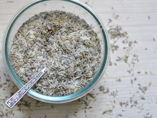 lavender rice
