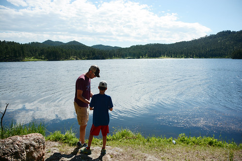 Fishin' at Custer State Park