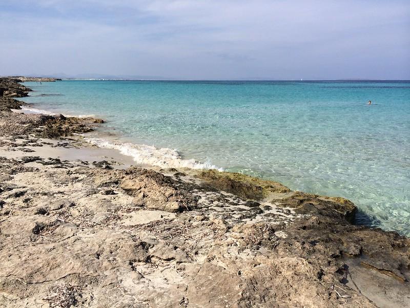 Platja de ses Canyes, Formentera
