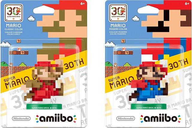 amiibo【超級瑪利歐兄弟30 周年限定】SUPER MARIO BROS. 30thシリーズ