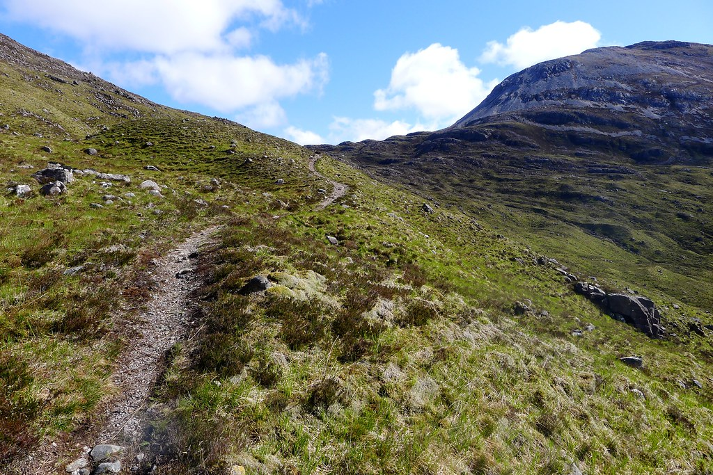 The path to the Bealach Ban