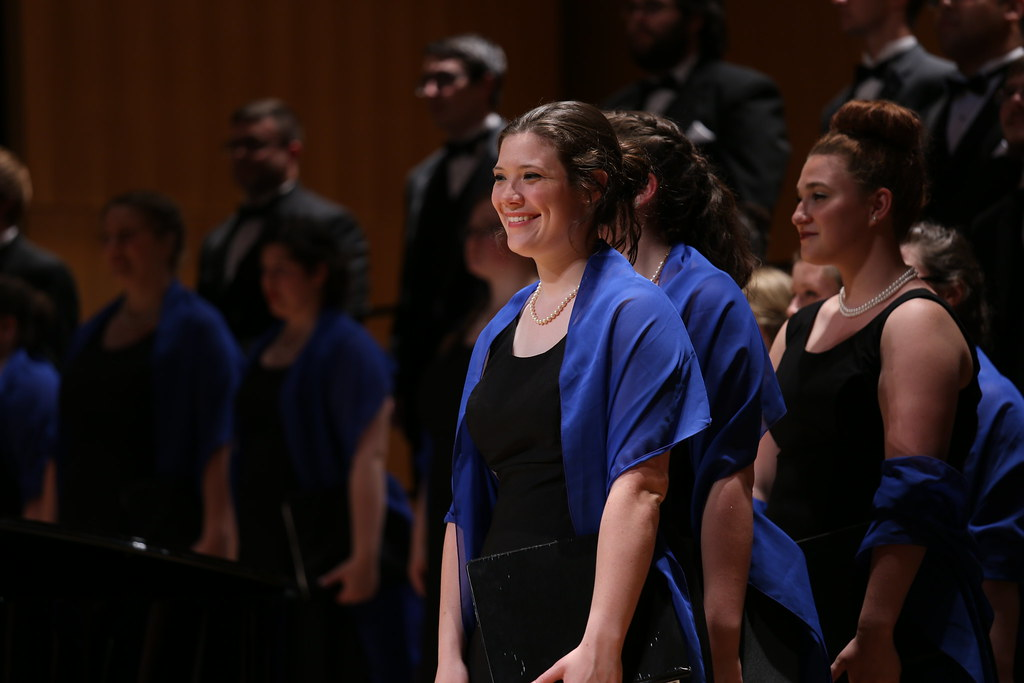 Lycoming College Choir performs in the National Libarary Arts Center Concert Hall in Beijing