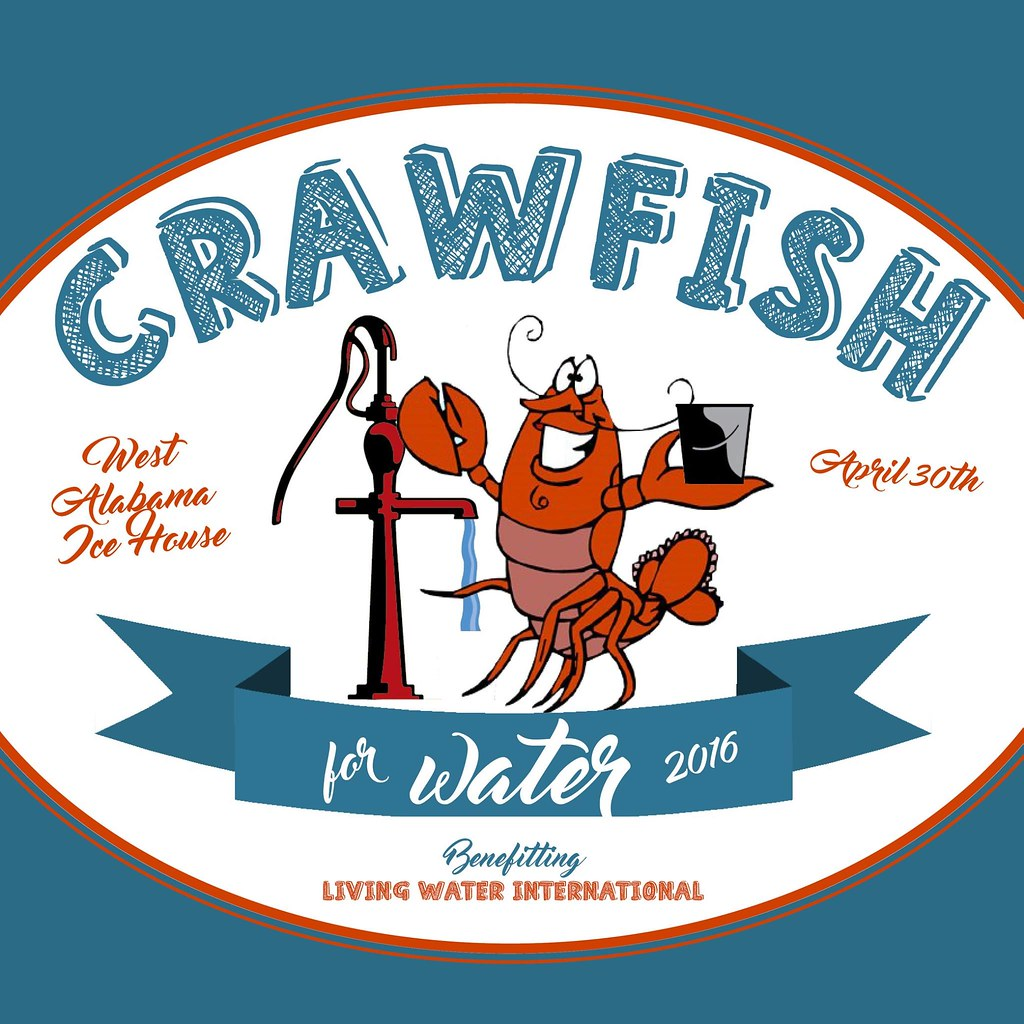 Crawfish for water logo