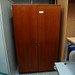 Tall 2 door veneer storage unit E100